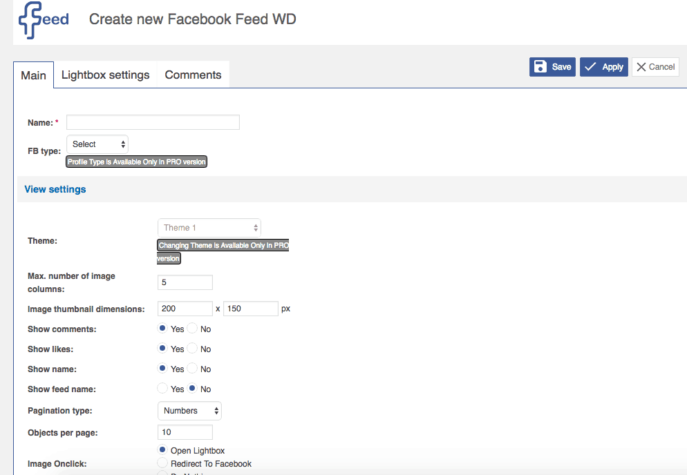 Facebook Feed WD WordPress Plugin Review1