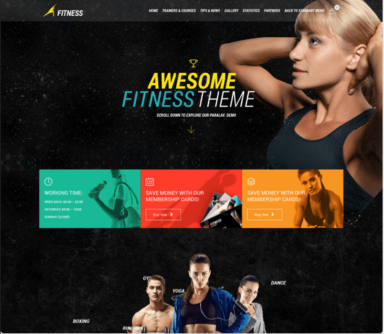 Fitness- Gym & Fit