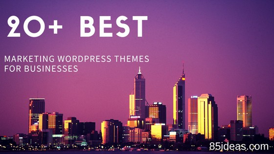 Marketing WordPress Themes