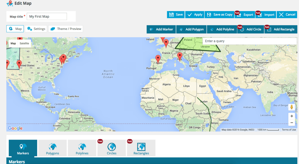 WordPress Google Maps plugin3