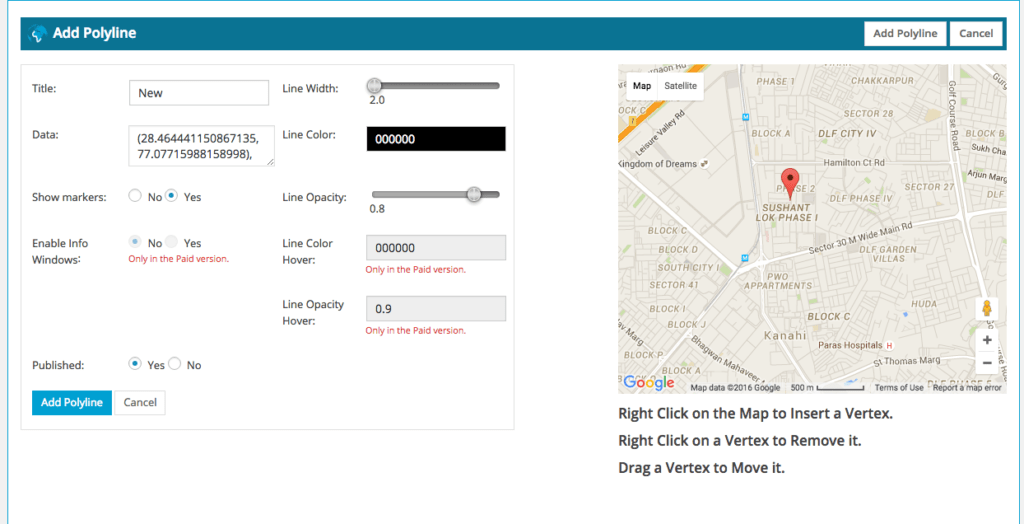 WordPress Google Maps plugin4