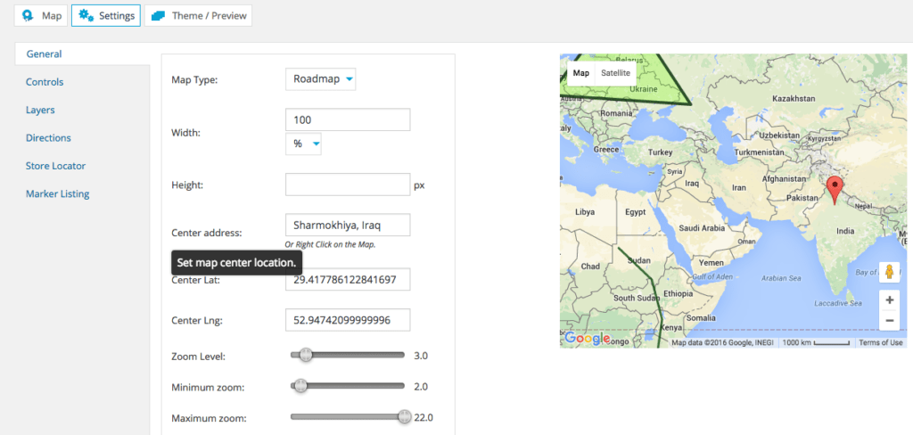 WordPress Google Maps plugin6