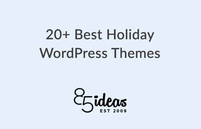 Best Holiday WordPress Themes