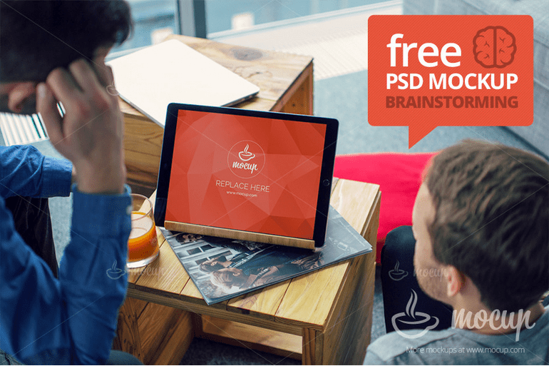 free-psd-mockup-brainstorming