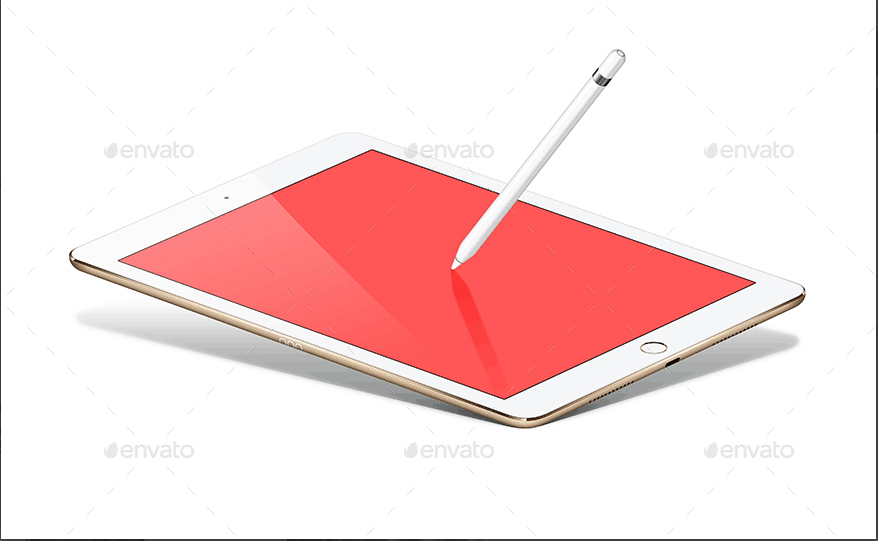 pad-pro-9-7-inch-and-pencil-vector-mockup