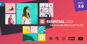Essential-Grid-Gallery-WordPress-Plugin - WordPress YouTube Plugins