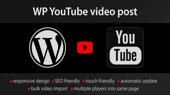 YouTube-WordPress-plugin-video-import