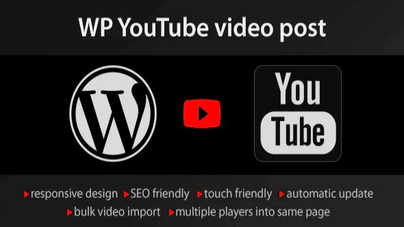 YouTube-WordPress-plugin-video-import