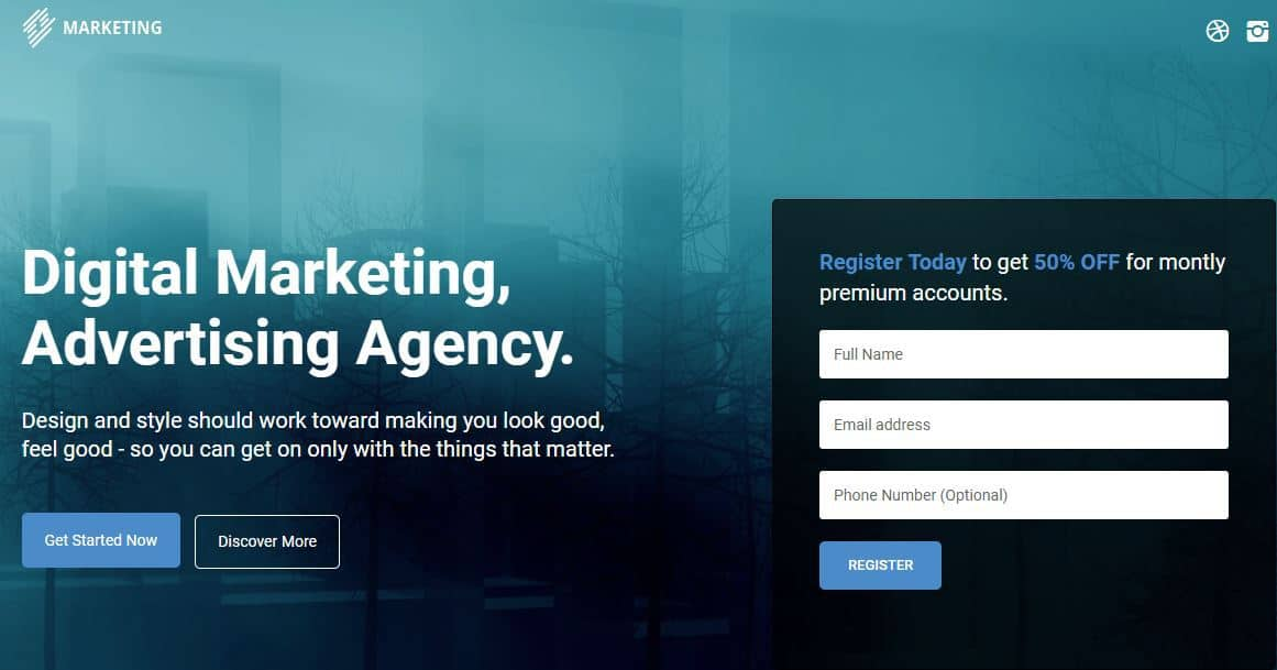 marketing theme