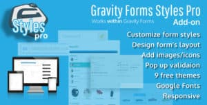 Gravity Forms Styles Pro Add – on