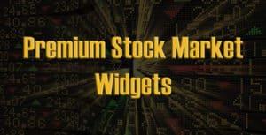 Premium Stock Market Widgets for WordPress