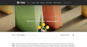 Fable WP Theme