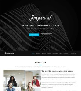 Imperial WP Theme