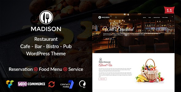 Madison WP Theme