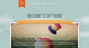 Sky WP Theme