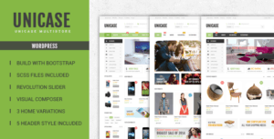 Unicase WP Theme