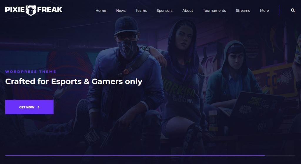 Gameleon Arcade gaming wordpress Theme