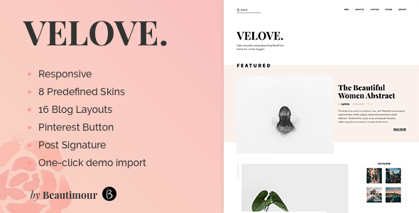 velove wp theme