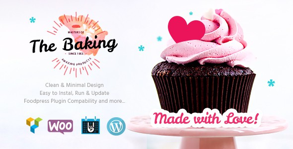 bakery wp theme