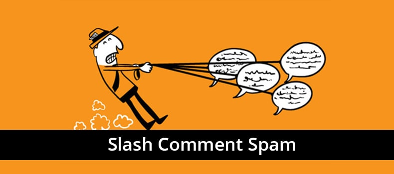 Slash Comment Spam