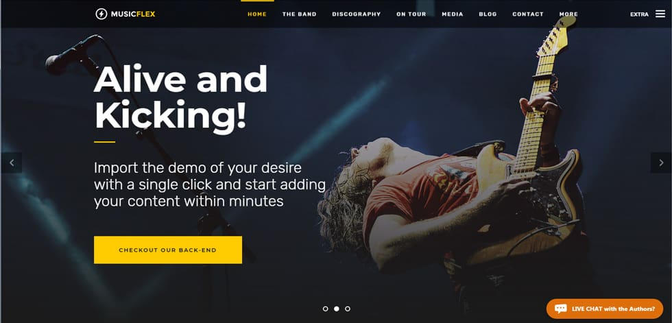 music-flex-wordpress-responsive-theme