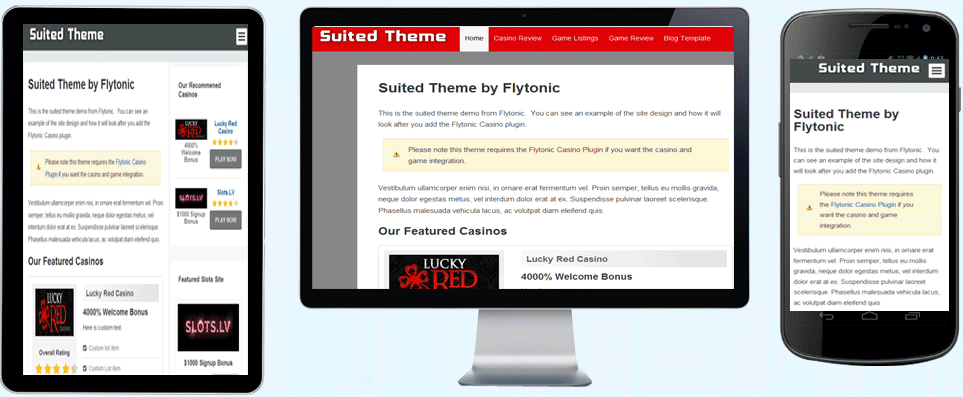 Suited Theme
