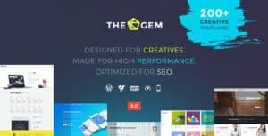 thegem wordpress creative theme