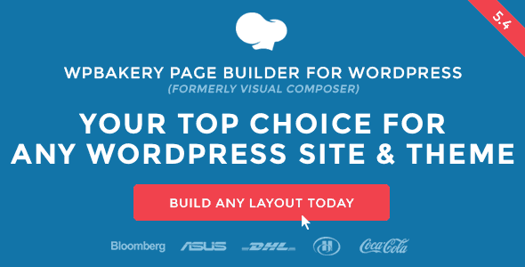WP Bakery- front end plugin