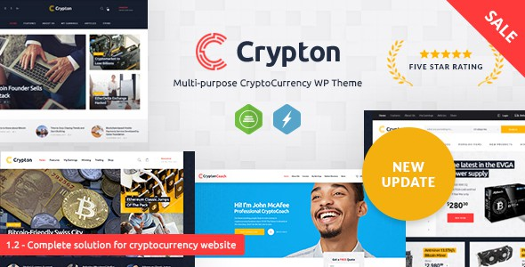 crypton - professional niche WP theme