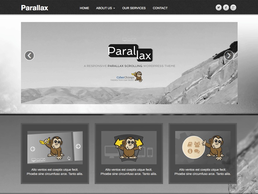 10 Awesome Free Parallax WordPress Themes in 2018 - 85ideas.com