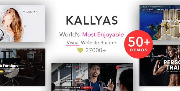 KALLYAS - Beauty Salon Theme - Best Hair Salon/Beauty WordPress Themes