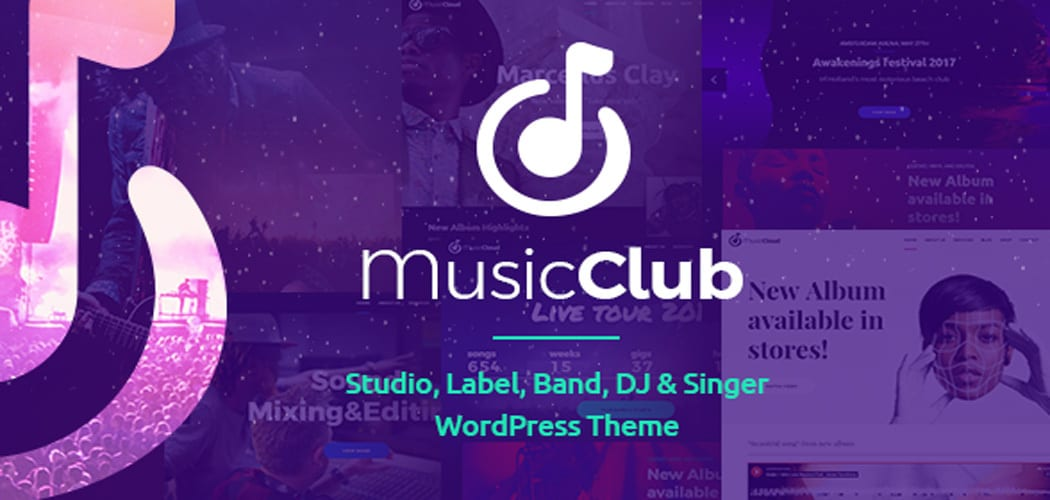 Best WordPress Themes for Music Sites