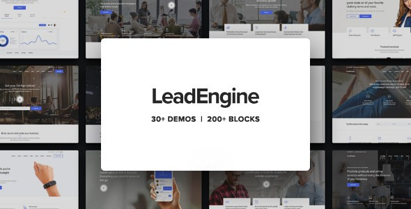 leadengine - Beauty Salon Theme - Best Hair Salon/Beauty WordPress Themes