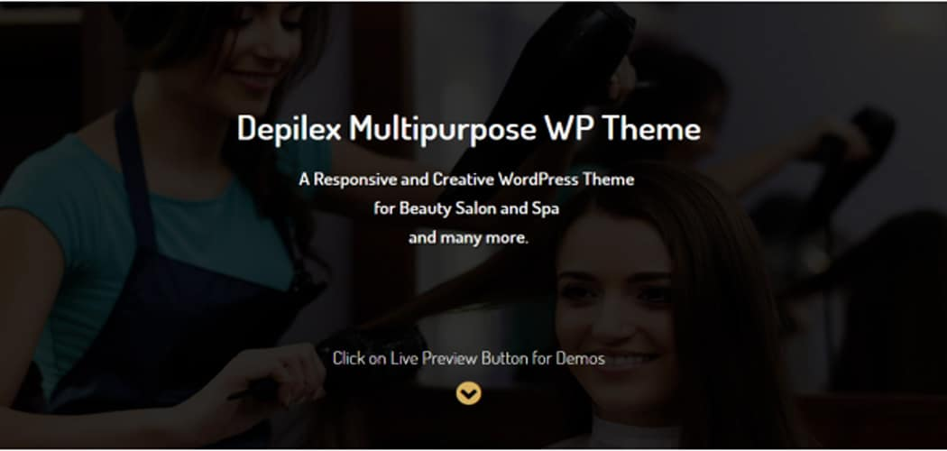 Beauty Salon Theme - Best Hair Salon/Beauty WordPress Themes