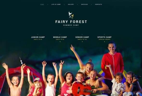 Fairy Forest - Children WP Theme