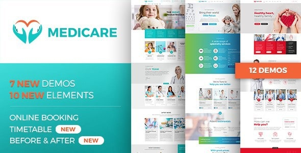 health and Medical wordpress themes