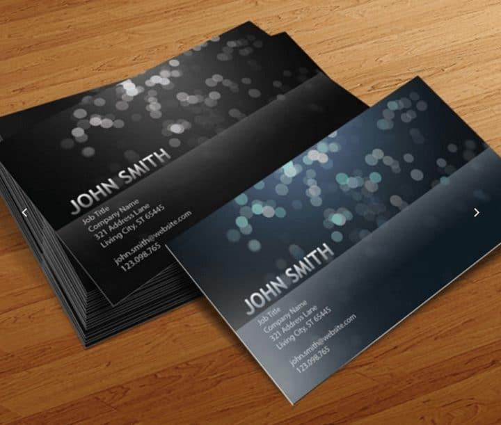 Blurry-Circles-Business-Card-Templates-Cursive-Q-Designs
