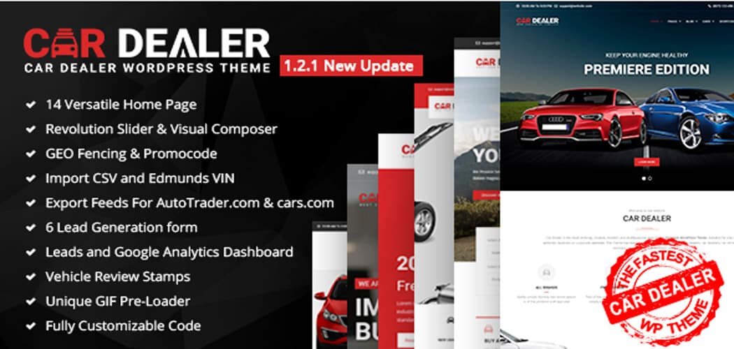 Beautiful Car Dealer WordPress Themes