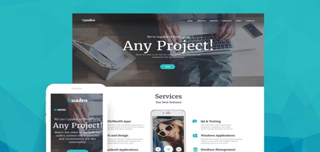 Software Company WordPress Themes