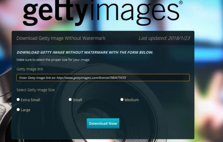 Getty-Image-free image sources