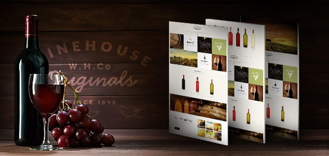 amazing WordPress themes for wineries