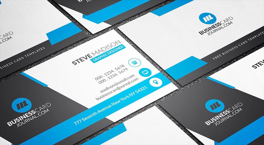 Awesome free business card psd mockup templates in 2018 85ideas business card templates reheart Gallery