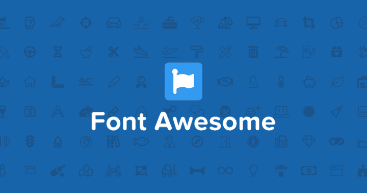 font awesome - free icon sets