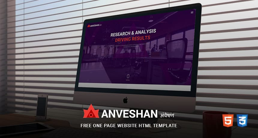 ANVESHAN-Free-One-Page-Website-HTML-Template