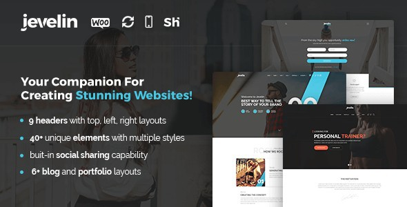 Jevelin-WordPress-Theme