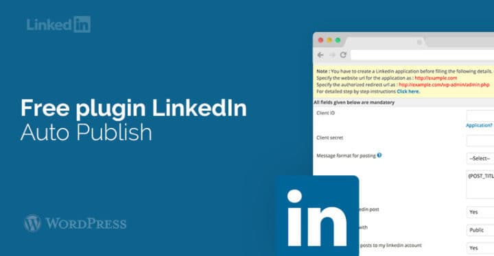 LinkedIn to WordPress plugin