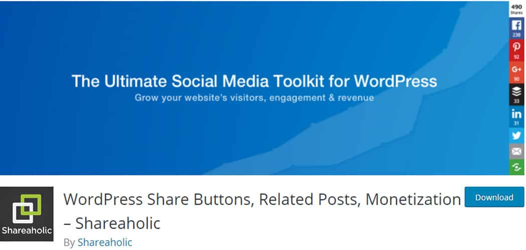 Free Social Media Plugins for WordPress