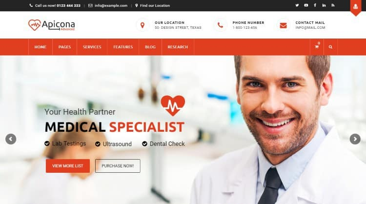 apicona-medical-wordpress-theme