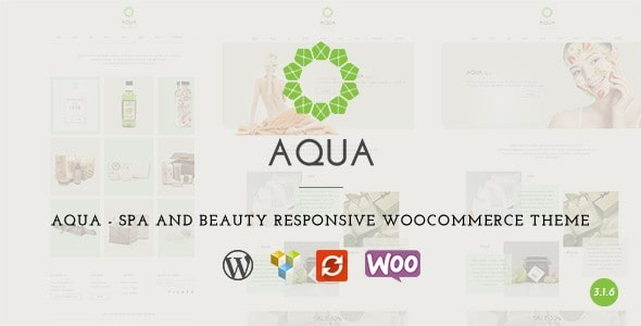 aqua - Beauty Salon Theme - Best Hair Salon/Beauty WordPress Themes