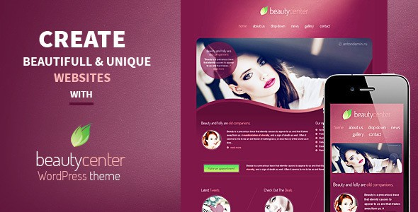beauty and wellness wp theme